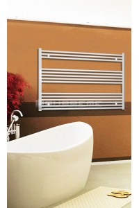 1200mm Wide 800mm High White Flat Towel Radiator
