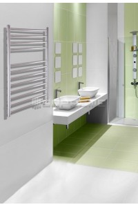 500mm Wide 800mm High Stainless Steel Polished Towel Radiator