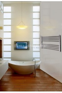 1000mm Wide 600mm High Stainless Steel Polished Towel Radiator