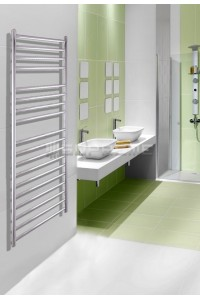 400mm Wide 1200mm High Stainless Steel Polished Towel Radiator