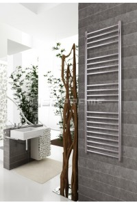 400mm Wide 1500mm High Stainless Steel Polished Towel Radiator