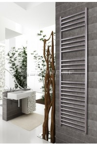 400mm Wide 1700mm High Stainless Steel Polished Towel Radiator
