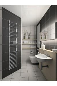 400mm Wide 1500mm High Stainless Steel Designer Towel Radiator