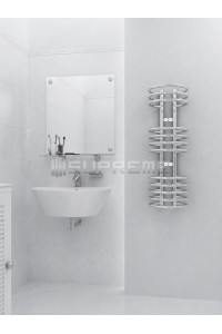 300mm Wide 900mm High Supreme Chrome Designer Towel Radiator