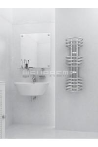 300mm Wide 900mm High Supreme Chrome Designer Towel Radiator