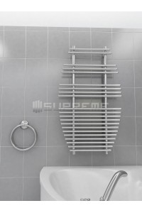 700mm Wide 1190mm High Supreme Chrome Designer Towel Radiator
