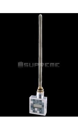 600 Watt Digitalt Reglerbar Krom Elpatron till Handdukstork