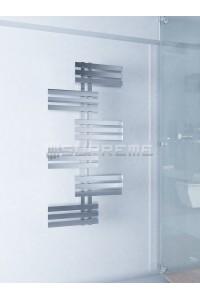 Supreme Designad Handdukstork Spegelblank Krom 600x1300 mm