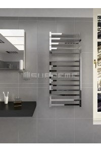 500mm Wide 1165mm High Supreme Chrome Designer Towel Radiator