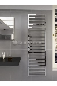 500mm Wide 1700mm High Supreme Chrome Designer Towel Radiator