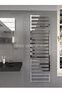 500mm Wide 1700mm High Supreme Chrome Designer Towel Radiator