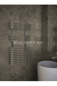500mm Wide 900mm High Supreme Chrome Designer Towel Radiator
