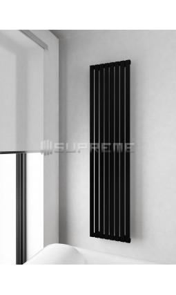 400x1700 mm Rektangulära Vertikalt Rör Svart Vattenburet Element