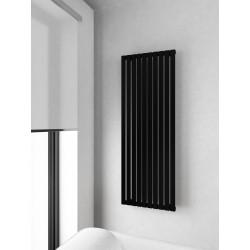 500x1400 mm Rektangulära Vertikalt Rör Svart Vattenburet Element