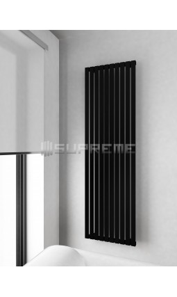 500x1700 mm Rektangulära Vertikalt Rör Svart Vattenburet Element