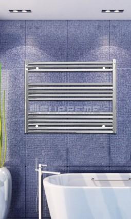 1000x800 mm Krom Platt Handdukstork