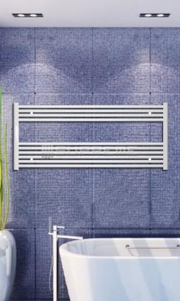 1200x600 mm Vit Platt Handdukstork
