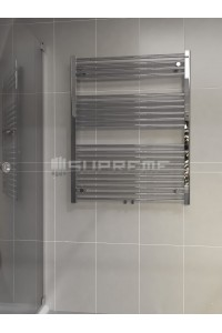 800mm Wide 1000mm High Middle Connection Chrome Towel Radiator