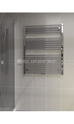 800x1000 mm Kombi Krom Handdukstork