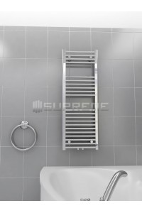 400/1100mm Middle Connection Chrome Towel Radiator