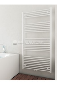 700mm Wide 1400mm High Middle Connection White Towel Radiator