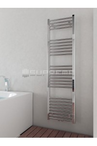 400mm Wide 1400mm High Middle Connection Chrome Towel Radiator