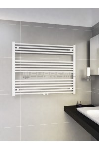 1000mm Wide 800mm High Middle Connection White Towel Radiator