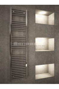 400/1600mm Middle Connection Chrome Towel Radiator