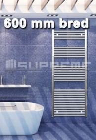600 mm breda handdukstorkar