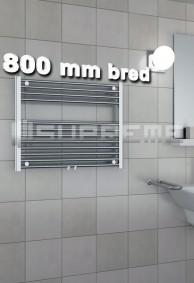 800 mm breda handdukstorkar